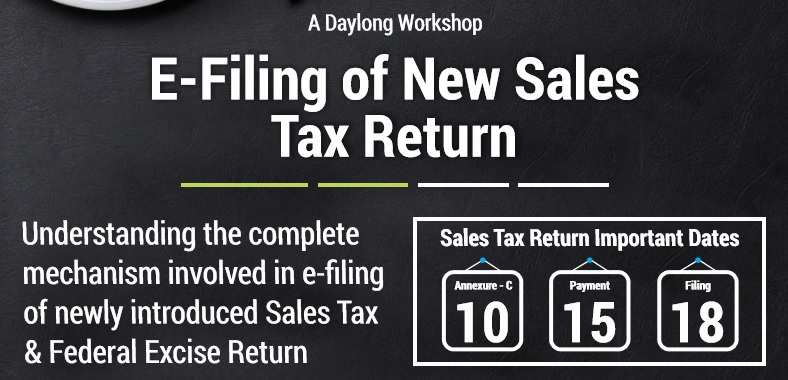 A Day long Workshop on E-Filing of New Sales Tax Return