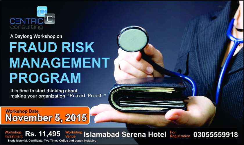A Day Long Workshop on Fraud Risk Management Program